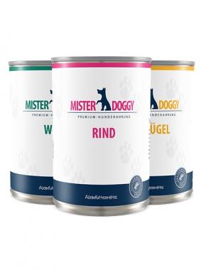 Mister Doggy - Rind, Wild und Geflügel Mix (6 x 400g)